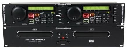 DJ CD-проигрыватель American Audio DCD-PRO 310 MKII