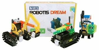 Электромеханический конструктор Robotis DREAM 0059 Уровень 4
