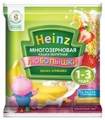 Каша Heinz молочная Любопышки многозерновая йогуртная с бананом и клубникой (с 12 месяцев) 30 г