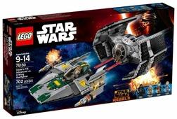 Конструктор LEGO Star Wars 75150 Усовершенствованный истребитель Вейдера против звёздного истребителя