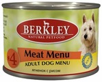Корм для собак Berkley Паштет для собак. #4 Ягненок с рисом