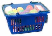 Корзина для покупок Boley с продуктами (43804)