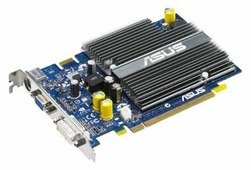Видеокарта ASUS GeForce 7600 GS 400Mhz PCI-E 512Mb 540Mhz 128 bit DVI TV YPrPb