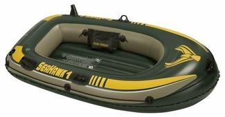 Надувная лодка Intex Seahawk-100 (68345)