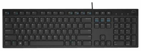 Клавиатура DELL KB216 Black USB