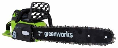 Цепная электрическая пила greenworks GD40CS40 0
