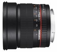 Объектив Samyang 85mm f/1.4 AS IF UMC Fujifilm X