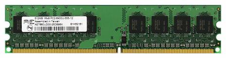 Оперативная память 512 МБ 1 шт. AENEON AET660UD00-30D