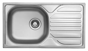 Врезная кухонная мойка UKINOX Compact СММ 780.435-GT6K