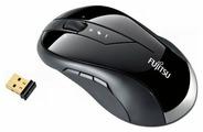 Мышь Fujitsu-Siemens Wireless Laser Mouse WL9000 Black USB