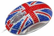 Мышь Satzuma Diamante mouse Blue-Red USB