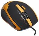 Мышь LOGICFOX GM-028 Black-Yellow USB