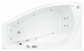 Ванна POOLSPA NICOLE 160x80 акрил угловая
