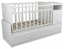 Кроватка ФА-мебель Алеся (трансформер)