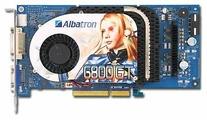 Видеокарта Albatron GeForce 6800 GT 350Mhz AGP 256Mb 1000Mhz 256 bit DVI TV