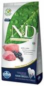 Корм для собак Farmina N&D ягненок с черникой 12 кг (для крупных пород)
