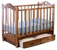 Кроватка Ведрусс Лана 3 (сердечко) (классическая)