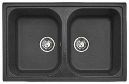 Врезная кухонная мойка Gran-Stone GS-15 78.5х49.5см искусственный мрамор