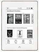 Электронная книга Barnes & Noble NOOK GlowLight Plus