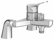 Однорычажный смеситель для ванны с душем Jacob Delafon Brive E75768-CP