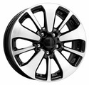 """Автомобильные диски K&K КС688 16x6.5"""" 5x114.3мм DIA 66.1мм ET 40мм [64749]"""