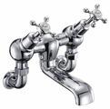 Смеситель для ванны Burlington Claremont CL26 двухрычажный хром