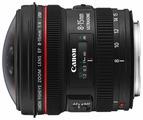 Объектив Canon EF 8-15mm f/4.0L Fisheye USM