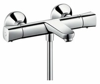 Термостатический двухрычажный смеситель для ванны с душем hansgrohe Ecostat Universal 13123000