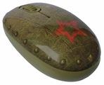 Мышь CBR Tank Battle Brown USB