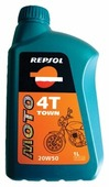 Моторное масло Repsol Moto Town 4T 20W50 1 л
