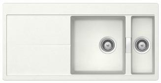 Врезная кухонная мойка TEKA Gloria 60 B-TG 100х50см искусственный гранит