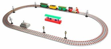 """Play Smart Стартовый набор """"Мой первый поезд"""", 0625"""