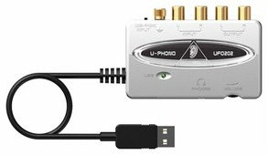 Внешняя звуковая карта BEHRINGER U-PHONO UFO202