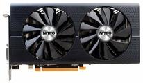 Видеокарта Sapphire Nitro+ Radeon RX 480 1208Mhz PCI-E 3.0 4096Mb 7000Mhz 256 bit DVI 2xHDMI HDCP (11260-02)