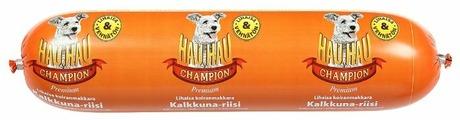 Корм для собак Hau-Hau Champion Колбаса с индейкой и рисом