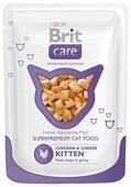Корм для котят Brit Care с курицей 80 г (мини-филе)