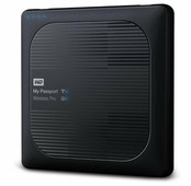 Внешний жесткий диск Western Digital My Passport Wireless Pro 2 TB (WDBP2P0020BBK)