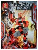 Конструктор SLUBAN Супер-робот M38-B0212 Гефест