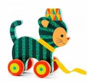 Каталка-игрушка DJECO Кот Ину (06233)