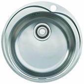 Врезная кухонная мойка FRANKE RON 610-41 51х51см нержавеющая сталь