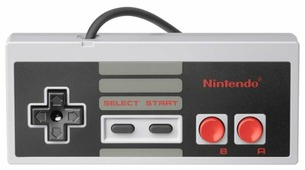 Геймпад Nintendo Classic Controller Mini
