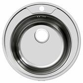 Врезная кухонная мойка UKINOX Favorit FAP 490-GT8K 0C 49х49см нержавеющая сталь