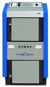 Твердотопливный котел Atmos DC 40 SX 40 кВт одноконтурный