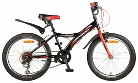 Подростковый горный (MTB) велосипед Novatrack Racer 20 6 (2017)