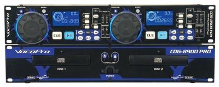 DJ CD-проигрыватель Vocopro CDG-8900 PRO