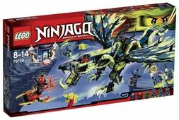 Конструктор LEGO Ninjago 70736 Атака дракона Морро