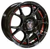 Колесный диск NZ Wheels F-42 6x15/4x100 D54.1 ET46 BKRSI