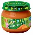 Пюре Heinz Морковочка (с 5 месяцев) 80 г, 12 шт