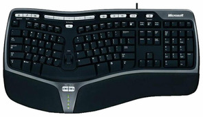 Клавиатура Microsoft Natural Ergonomic Keyboard 4000 Black USB