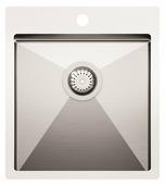Врезная кухонная мойка AQUASANITA Luna LUN100X 45х50.5см нержавеющая сталь